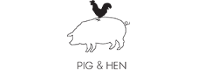 Pig and Hen Schmuck