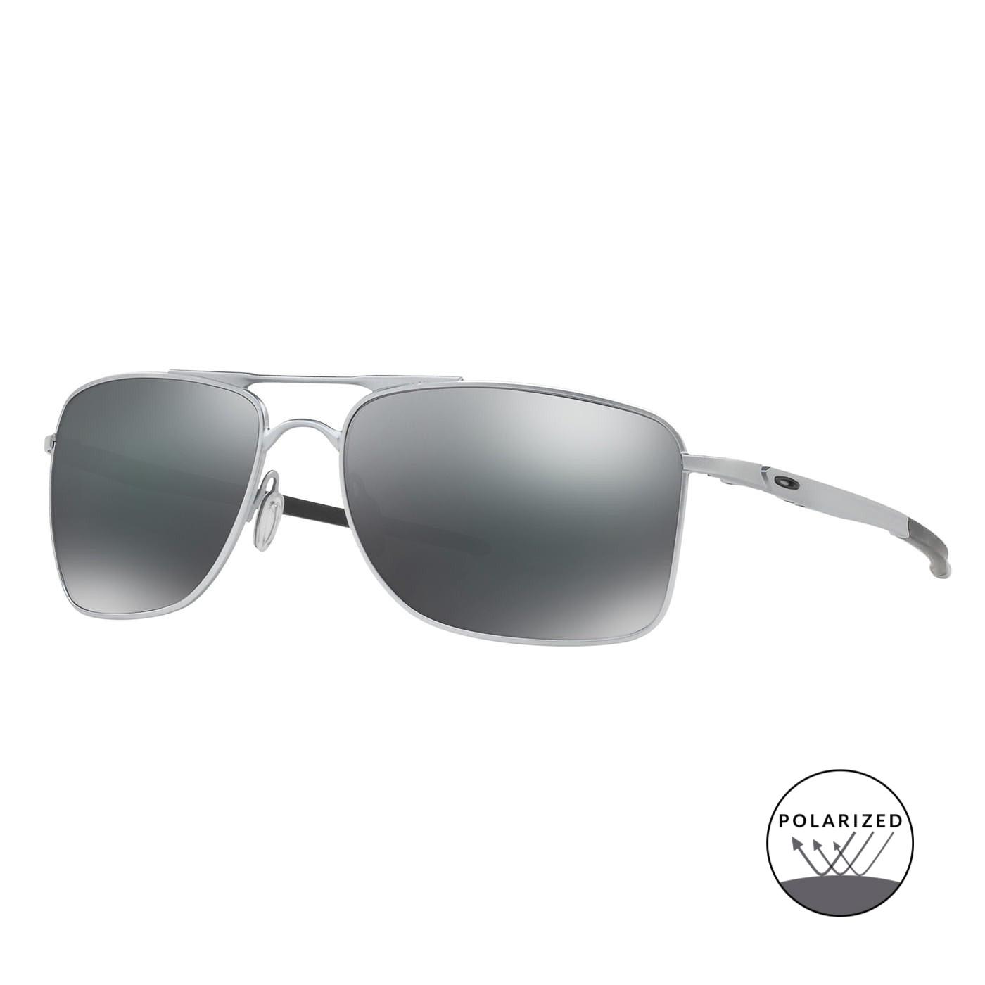Abbildung von Oakley Gauge 8 Matt Black Polarisierte Sonnenbrille 0OO4124 412402 57