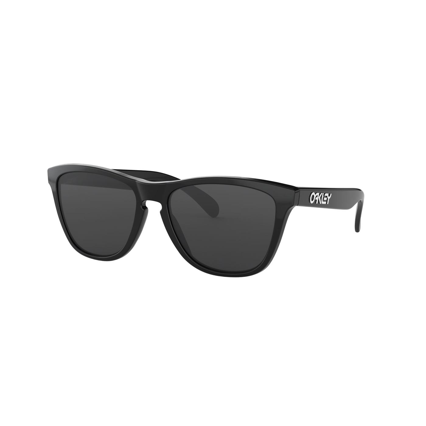 Abbildung von Oakley Frogskins Polished Black Sonnenbrille OO901324 30655