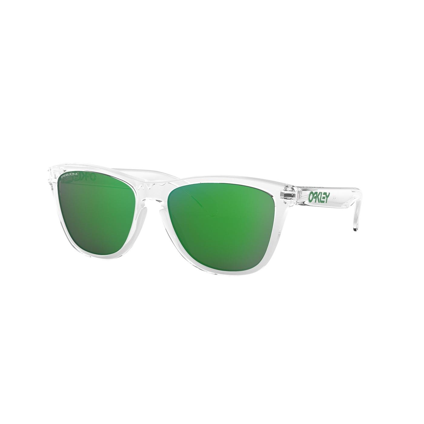 Abbildung von Oakley Frogskins Crystal Clear Sonnenbrille OO90139013D655