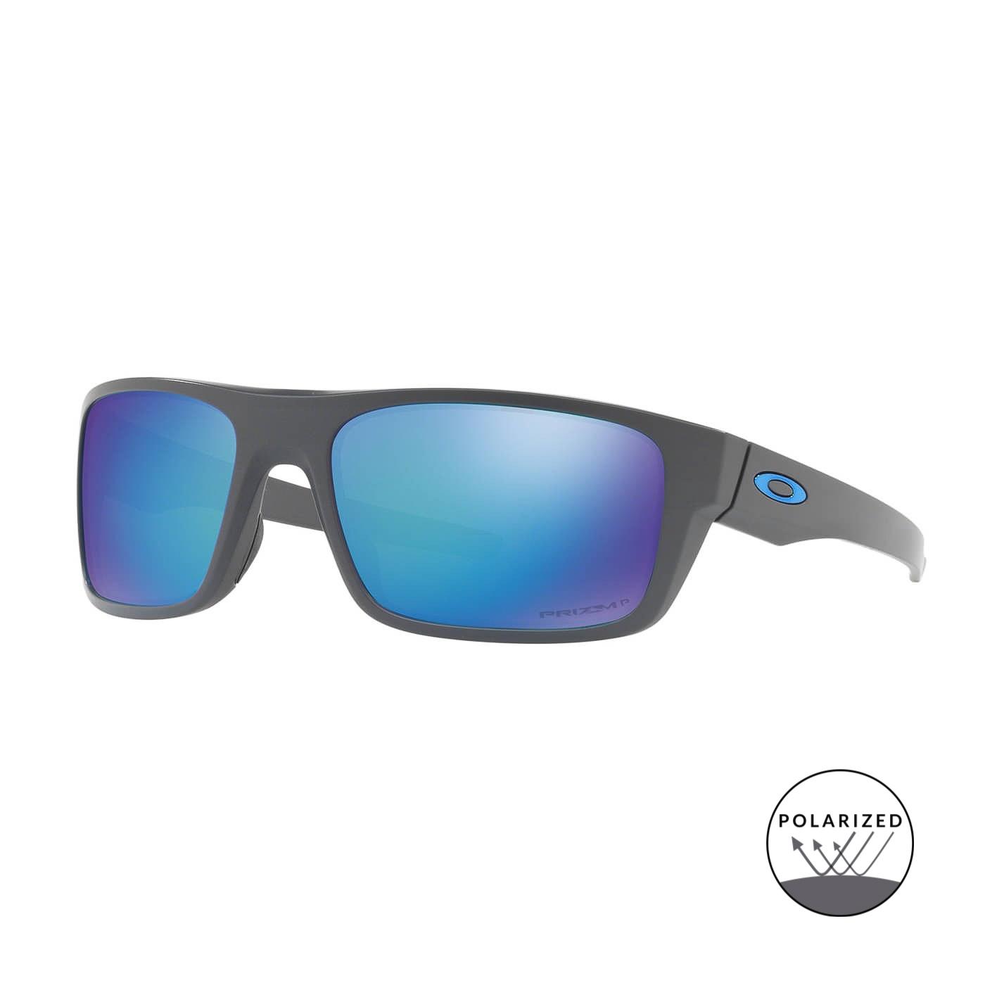 Abbildung von Oakley Drop Point Matt Dark Grey Polarisierte Sonnenbrille 0OO9367 936706 61