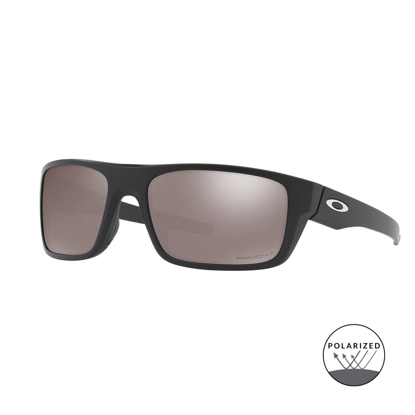 Abbildung von Oakley Drop Point Matt Black Polarisierte Sonnenbrille 0OO9367 936708 61
