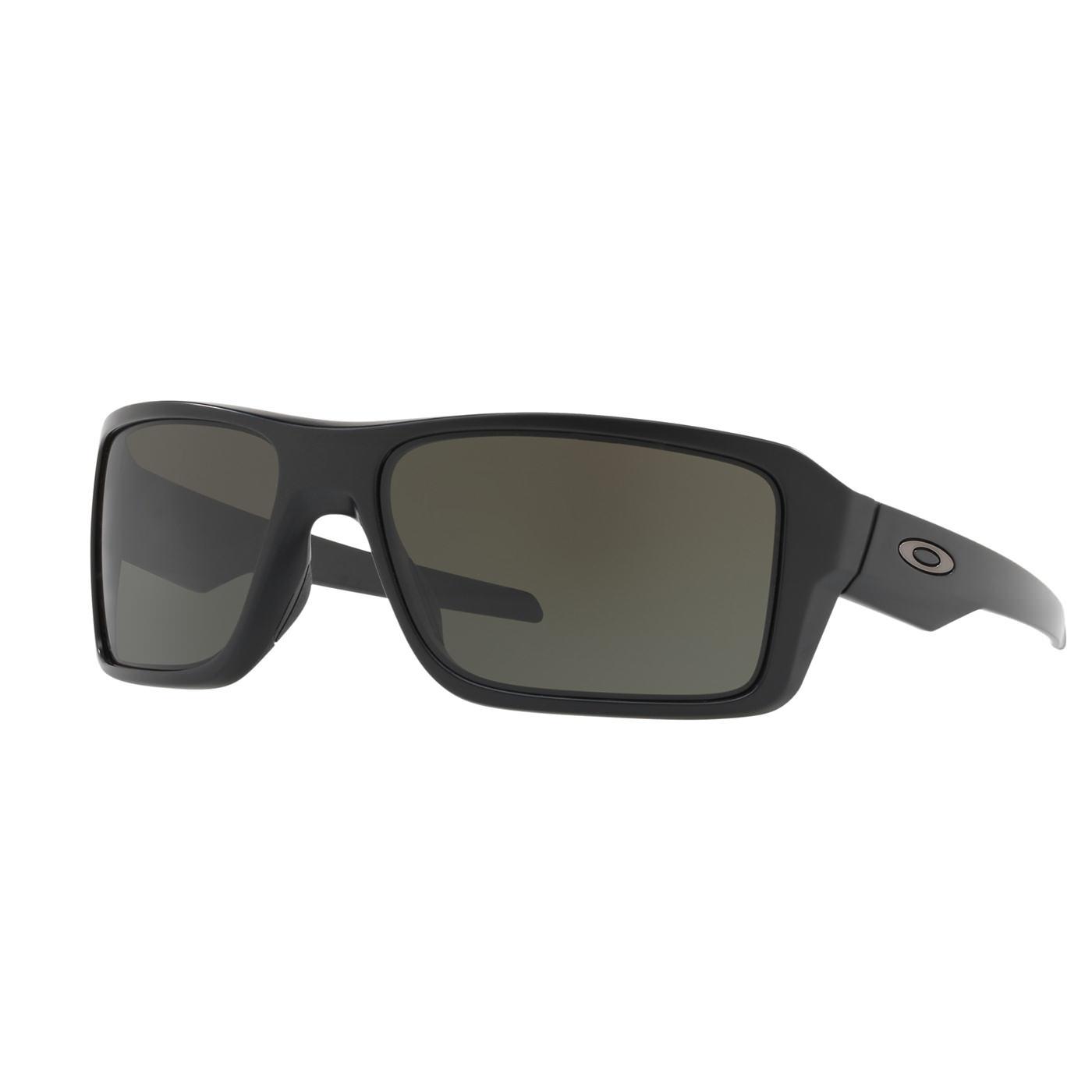 Abbildung von Oakley Double Edge Matt Black Sonnenbrille 0OO9380 938001 66