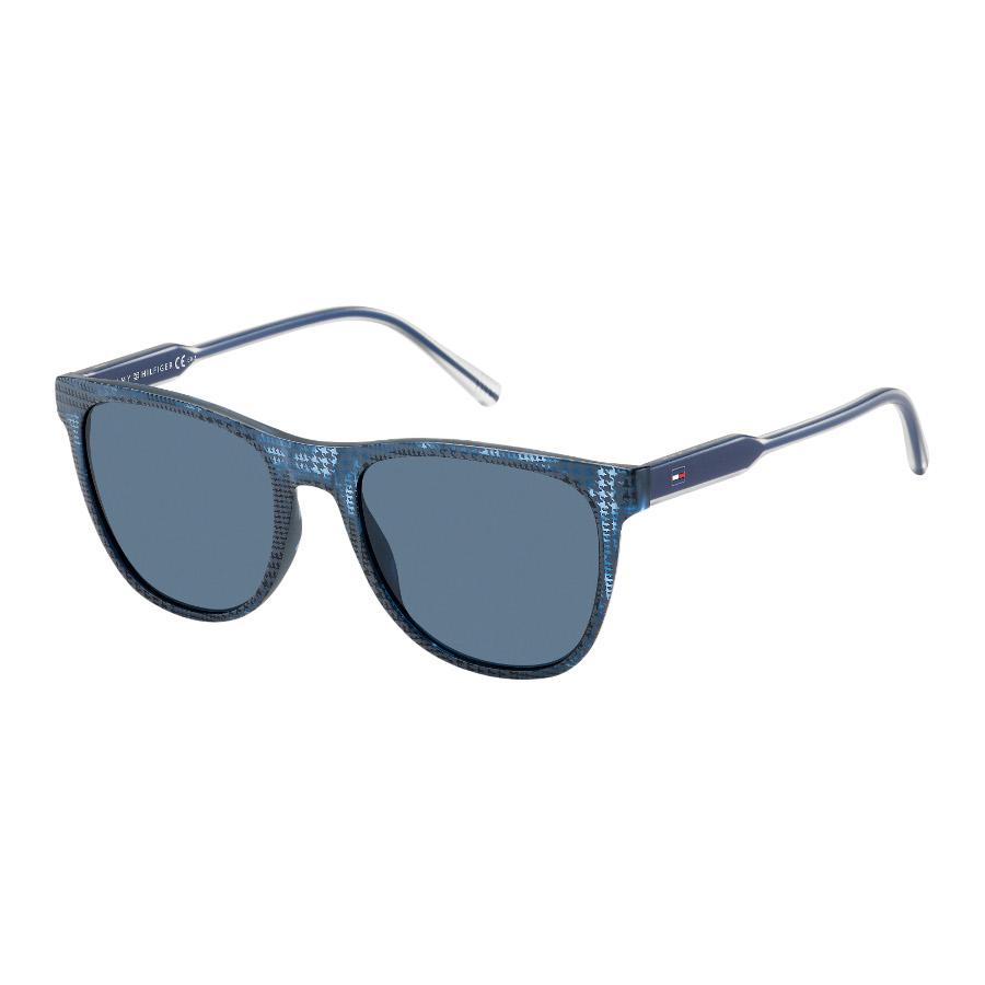 Artikel klicken und genauer betrachten! - Kauf die Tommy Hilfiger Sonnenbrille Blue Pattern TH1440SDB5-54 Sonnenbrille online in unserem webshop. Dies ist eine Herren-Sonnenbrille. Die Farbe des Gestells der Sonnebrille ist Blau und die Gläser sind Blau. Die Tommy Hilfiger Sonnenbrillen sinds echte Leichtgewichte und bieten daher einen optimalen Tragekomfort. An einer Tommy Hilfiger Sonnenbrille Blue Pattern TH1440SDB5-54 hast du jahrelang Freude. Wir sind offizieller Händler von Tommy Hilfiger Sonnenbrillen. Du erhältst darum auch die Standard-Garantie von 2 Jahre. Daneben bieten wir dir die Zeit, deine Sonnenbrille zu Hause in Ruhe anzuprobieren, und ggf. umzutauschen. Online eine Ray-Ban Sonnenbrille zu kaufen war noch nie so sicher. Diese sonnenbrille von Tommy Hilfiger wird kostenlos versendet ab 50 €.   im Online Shop kaufen