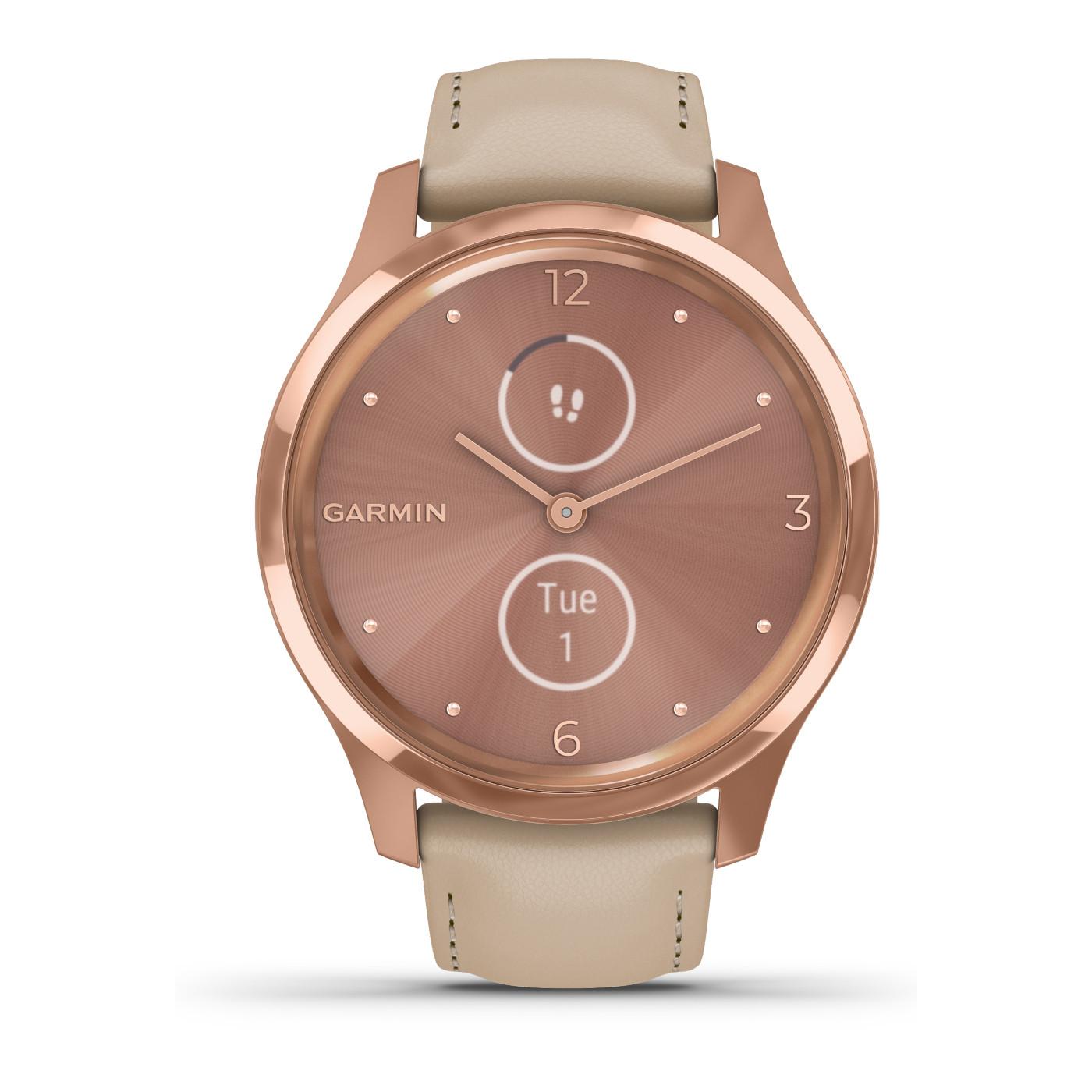 Garmin Vivomove Luxe Chrono Hybrid Smartwatch 010-02241-01