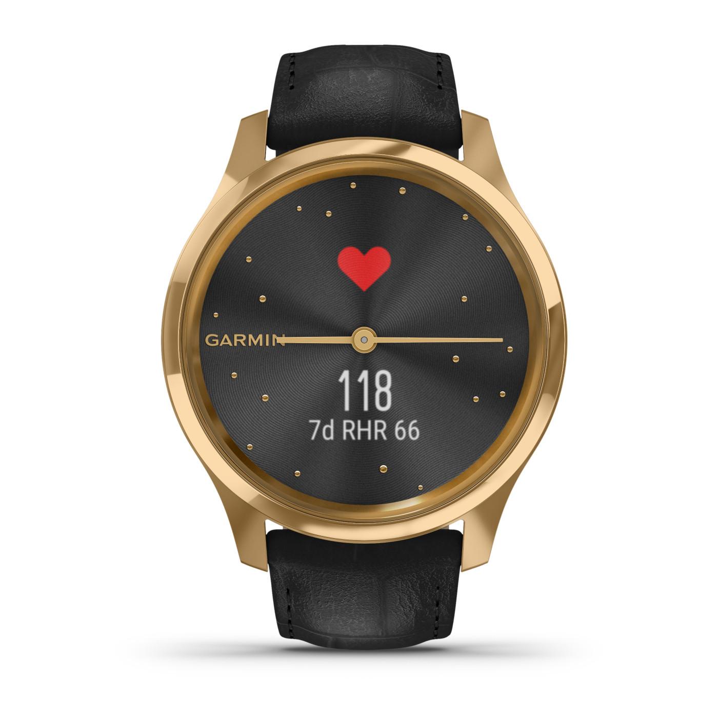 Garmin Vivomove Luxe Hybrid Smartwatch 010-02241-02