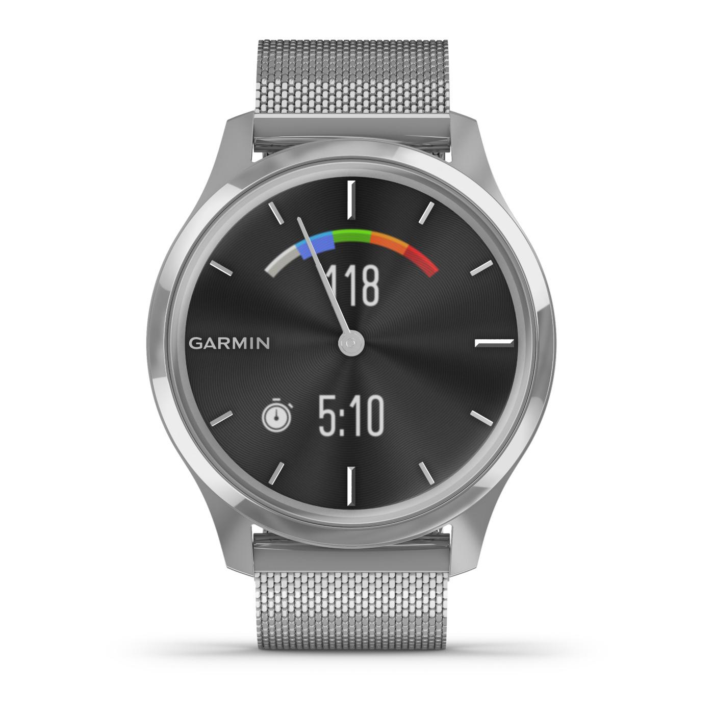 Garmin Vivomove Luxe Hybrid Smartwatch 010-02241-03