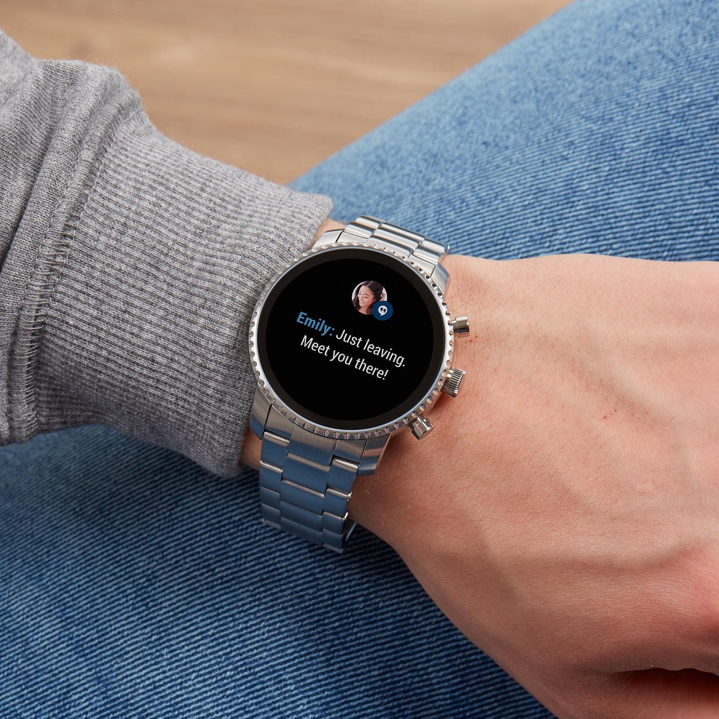 Fossil Q Explorist Gen 4 Display Smartwatch FTW4011