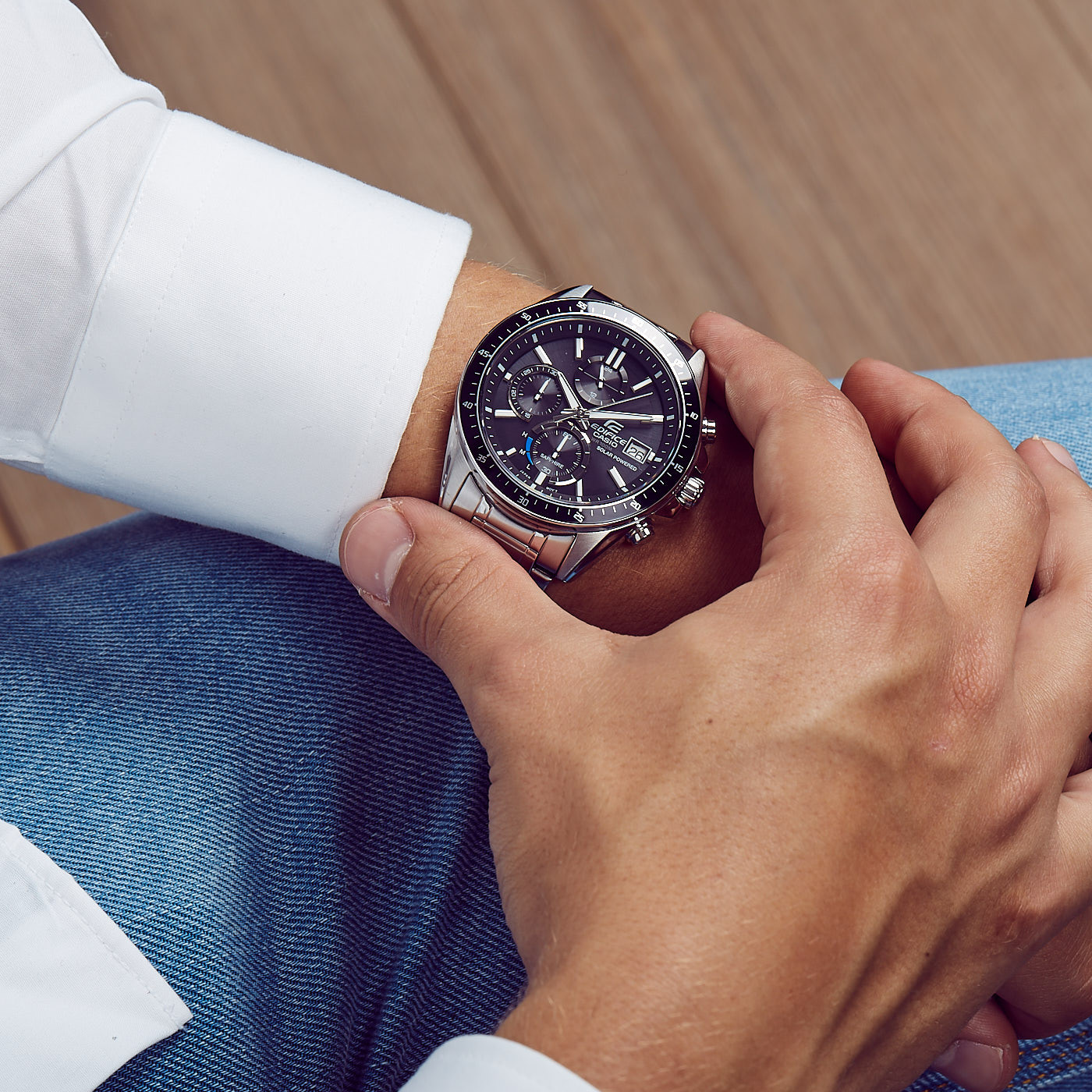Casio Edifice EFS S520CBL 1AUEF Edifice Premium Uhr • EAN