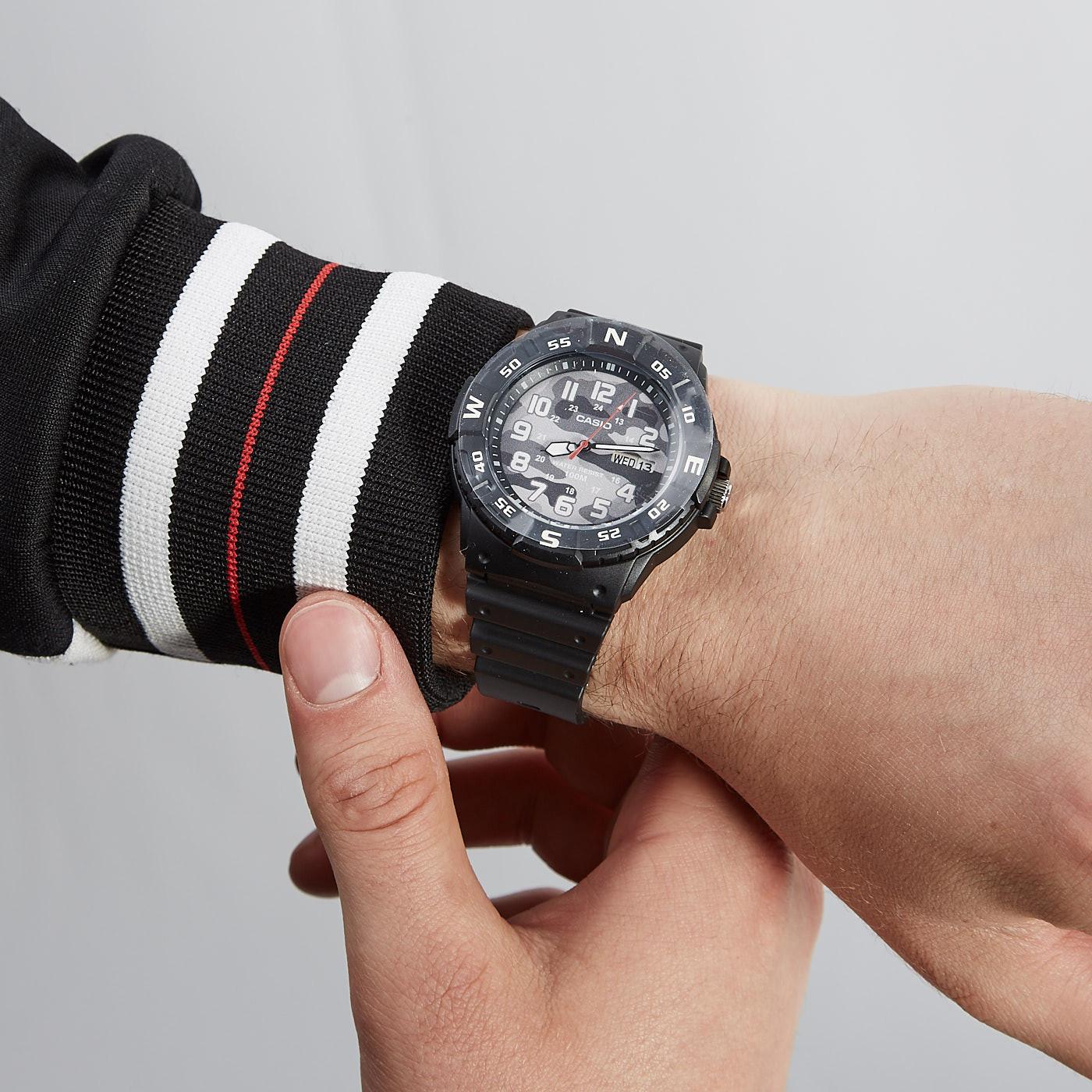 Casio Collection horloge MRW-220HCM-1BVEF
