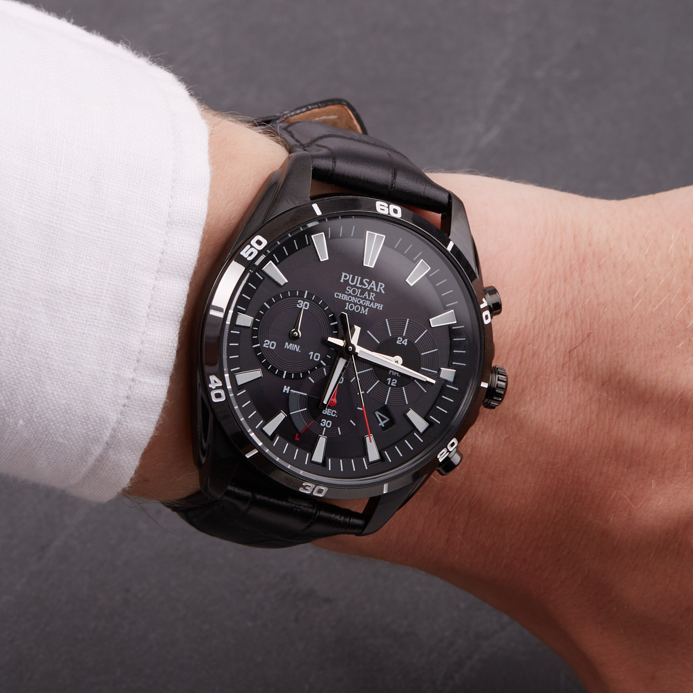 Pulsar Solar Chrono horloge PZ5063X1