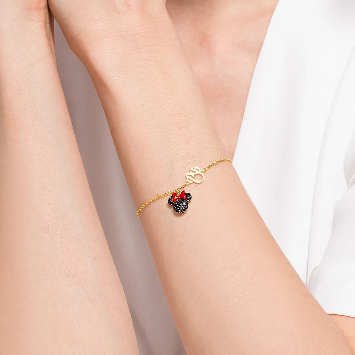 Swarovski Mickey & Minnie Armband 5566690 (Lengte: 16.50 cm)