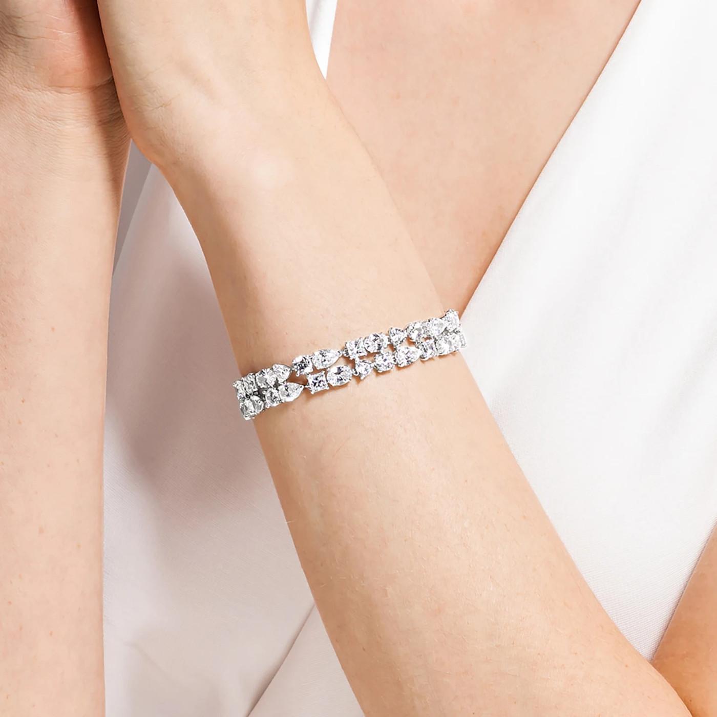 Swarovski Tennis Armband 5562088 (Lengte: 17.00 cm)