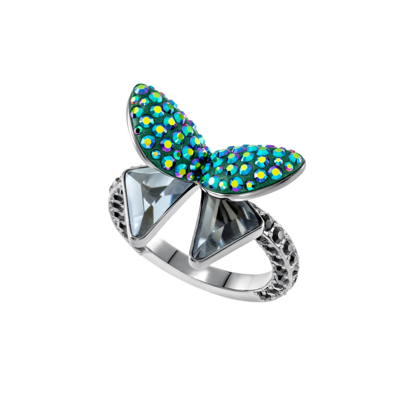 Swarovski Magnetic Butterfly Ring