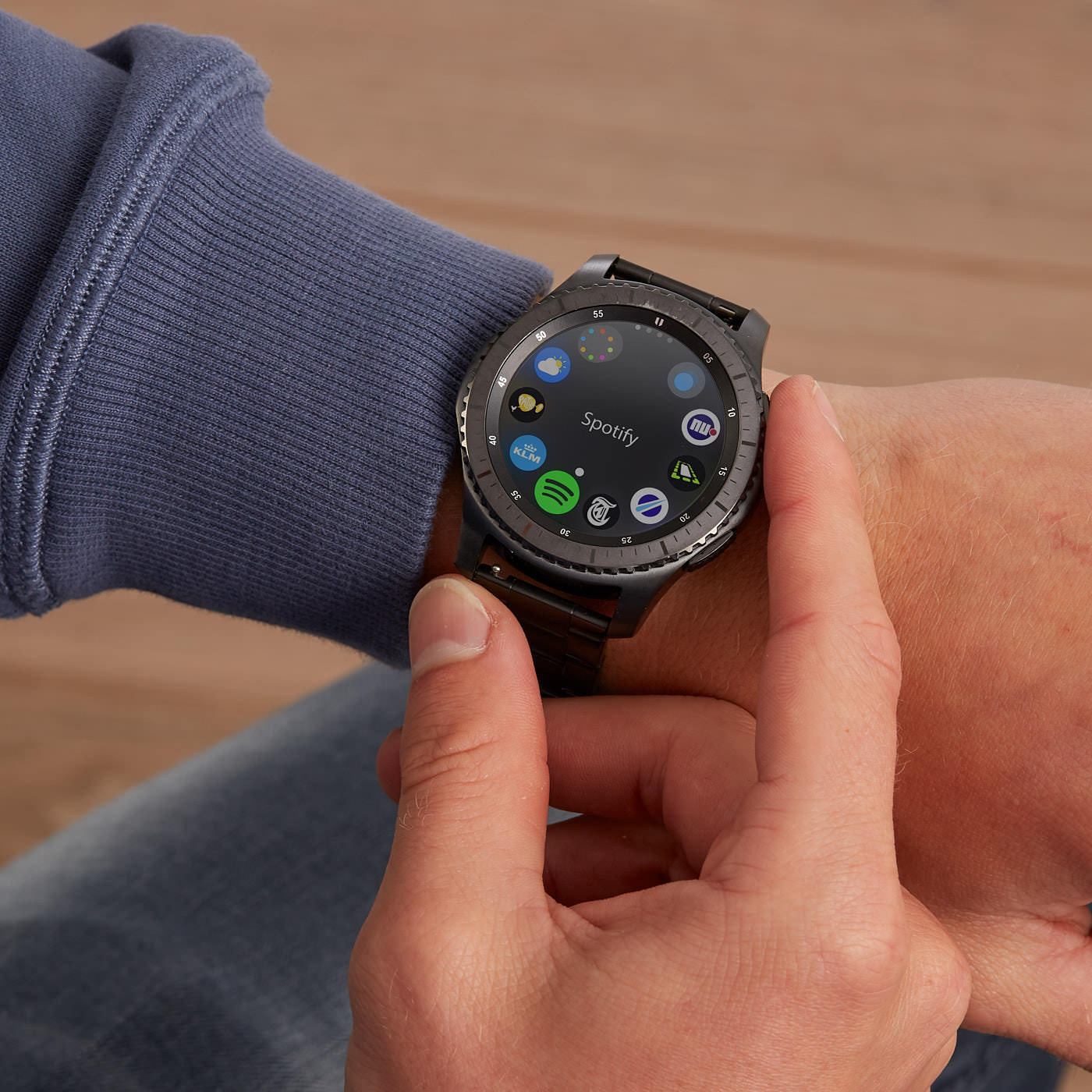 Samsung Special Edition Gear S3 Frontier Smartwatch SA.S3FRDG