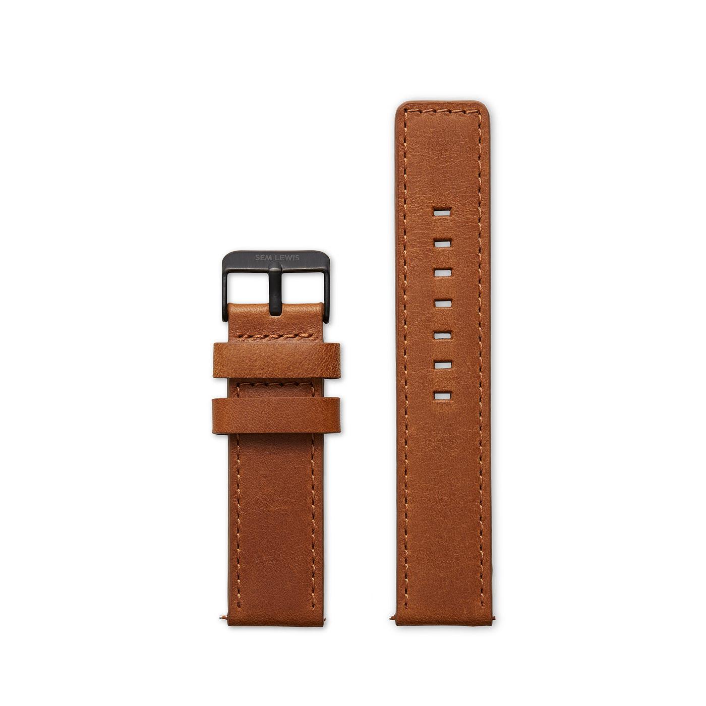 Sem Lewis Strap 22mm Cognac SL610003