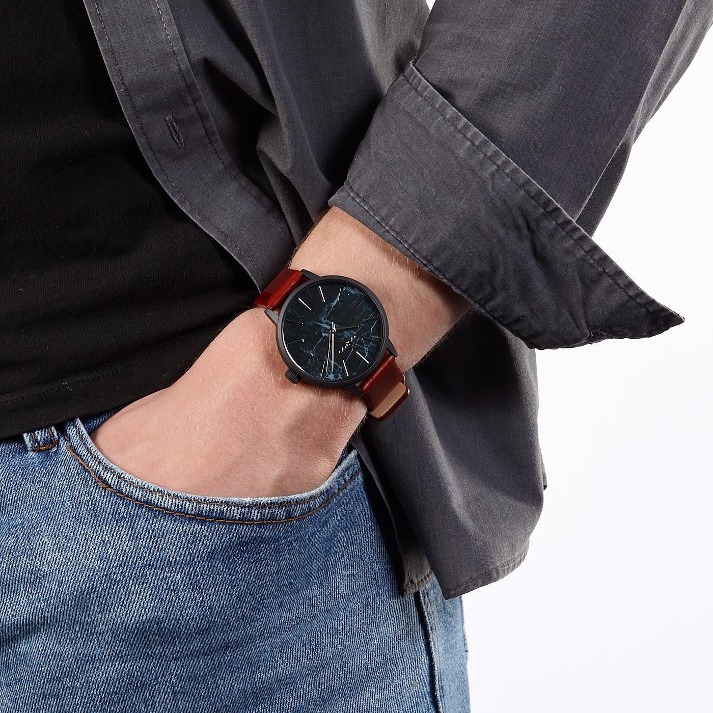 OOZOO Timepieces Bruin/Zwart C9759 (42 mm)