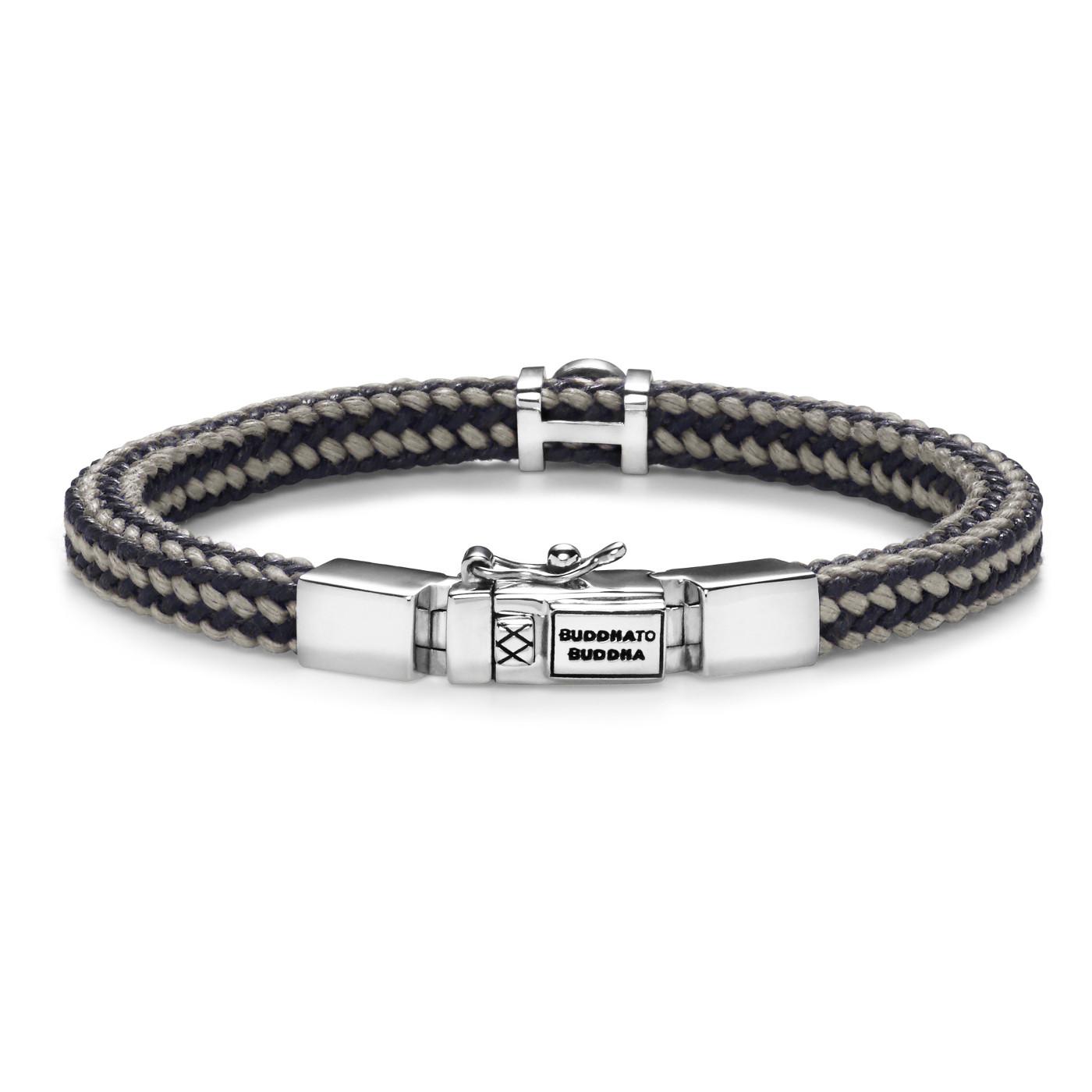 Buddha to Buddha Denise Cord Mix Grey Armband BTB780MIX-GR