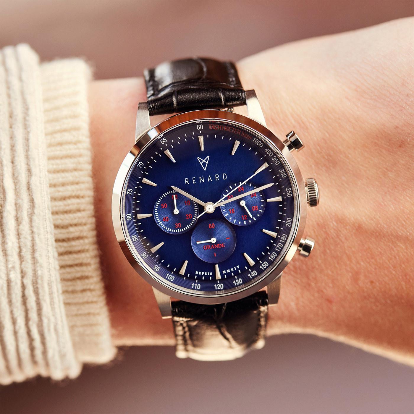 Renard Cadeau du Renard Herenhorloge Met Horlogeband RW90008
