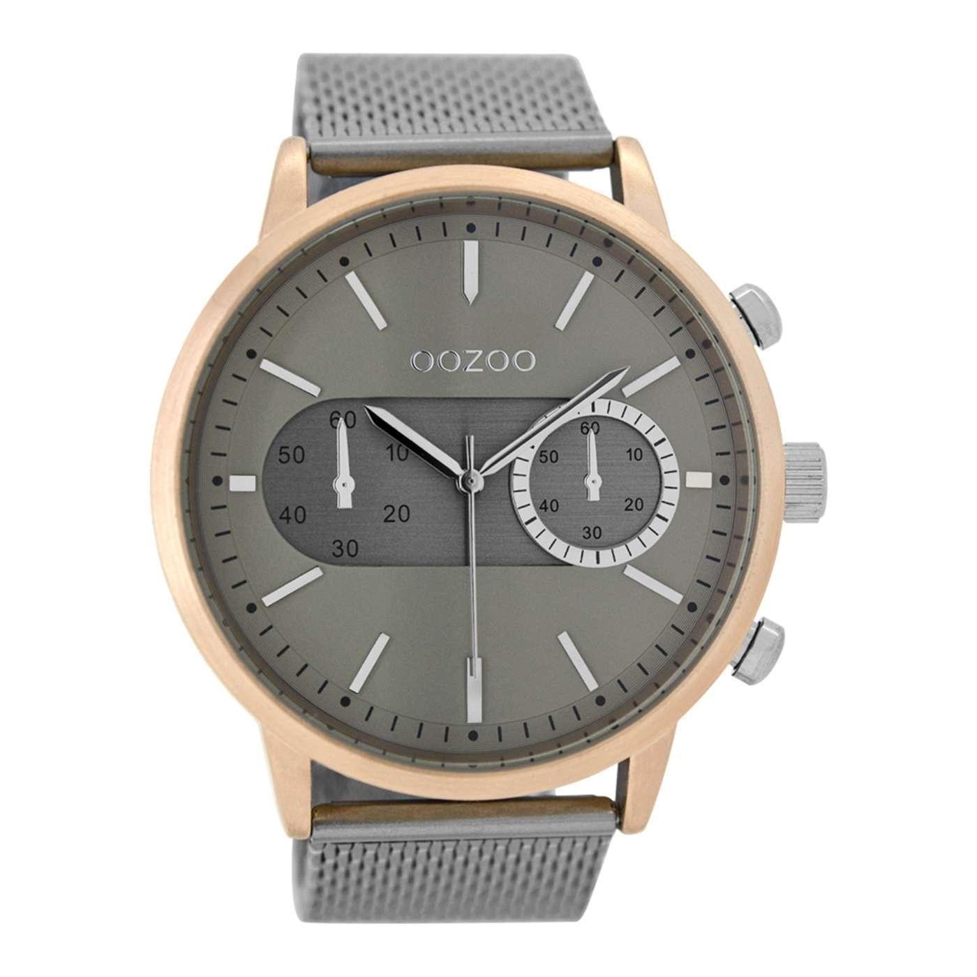 OOZOO Taupe horloge C9072
