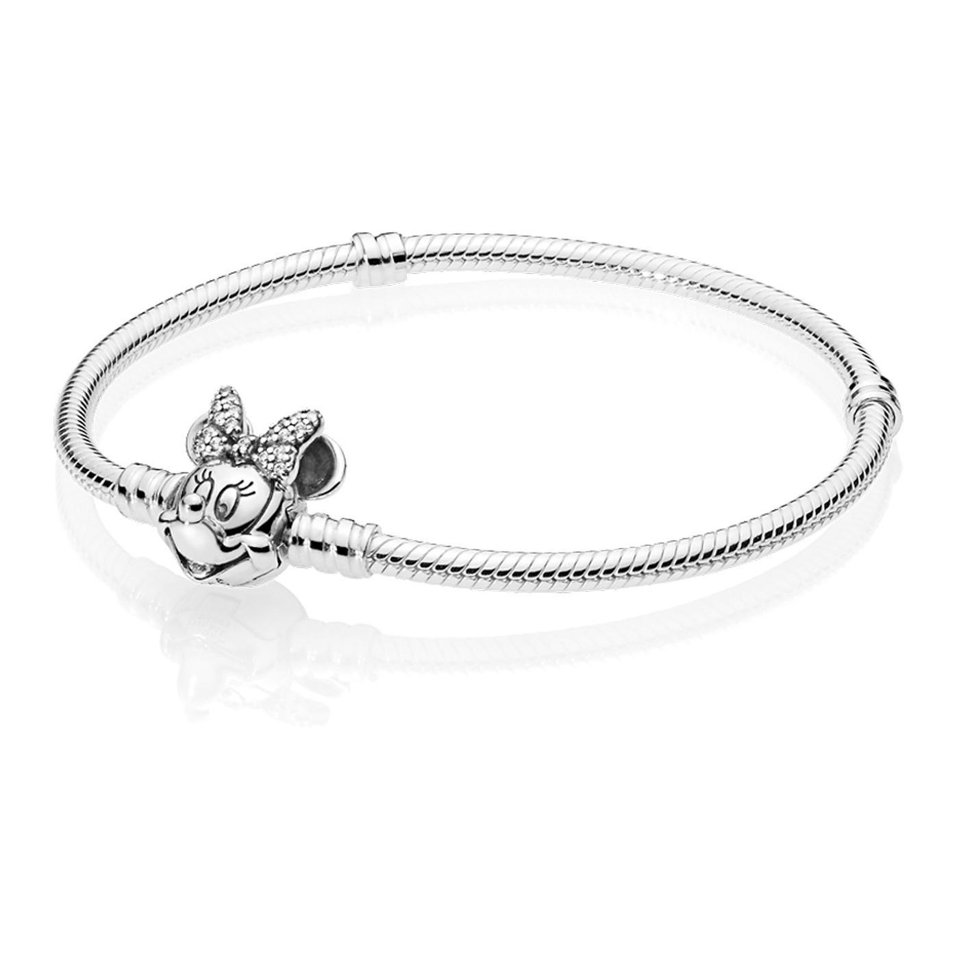 zum halben Preis große Auswahl an Farben und Designs gute Qualität Pandora Disney armband 597770CZ (Größe: 17-20 cm)
