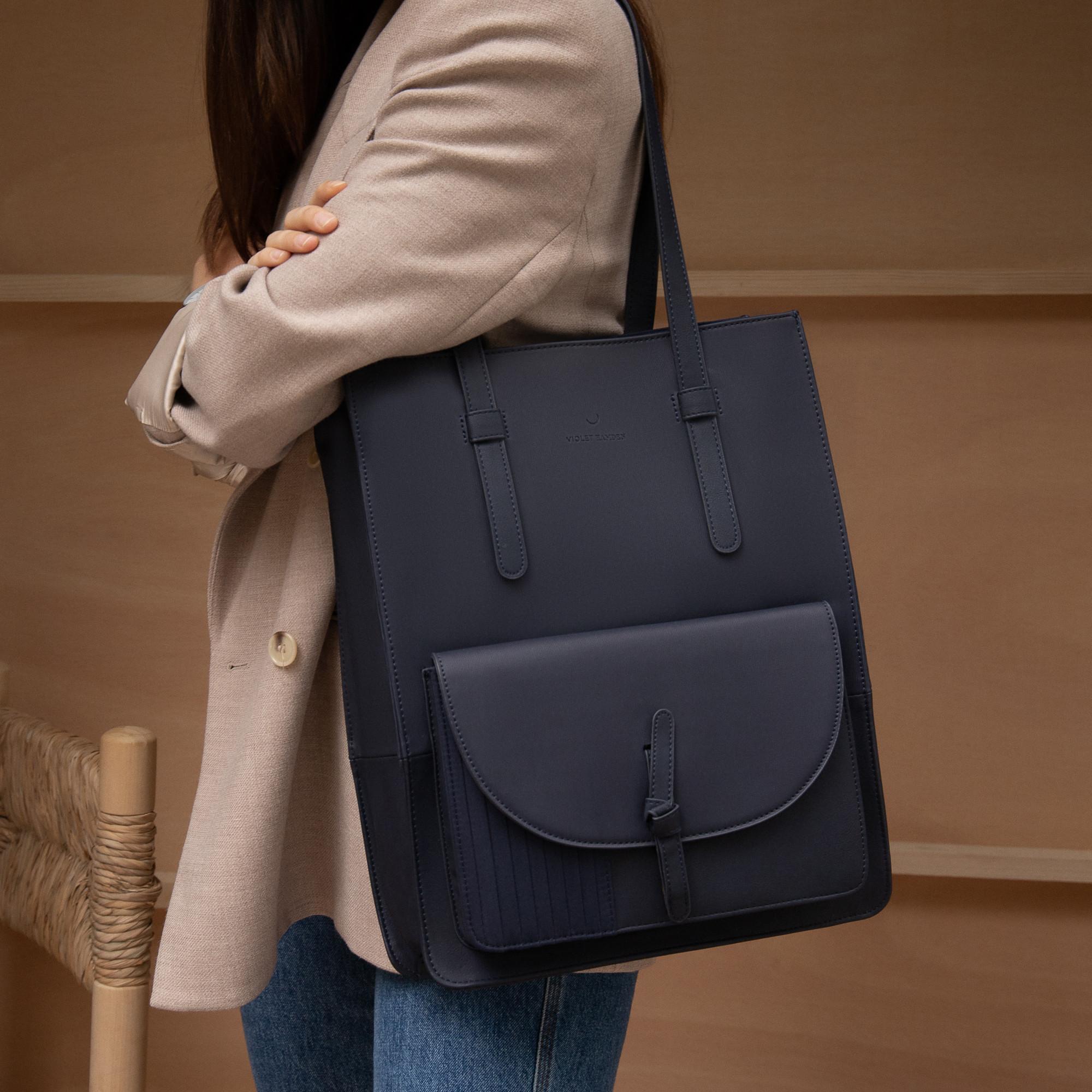 Violet Hamden Essential Bag blauer Shopper VH25002
