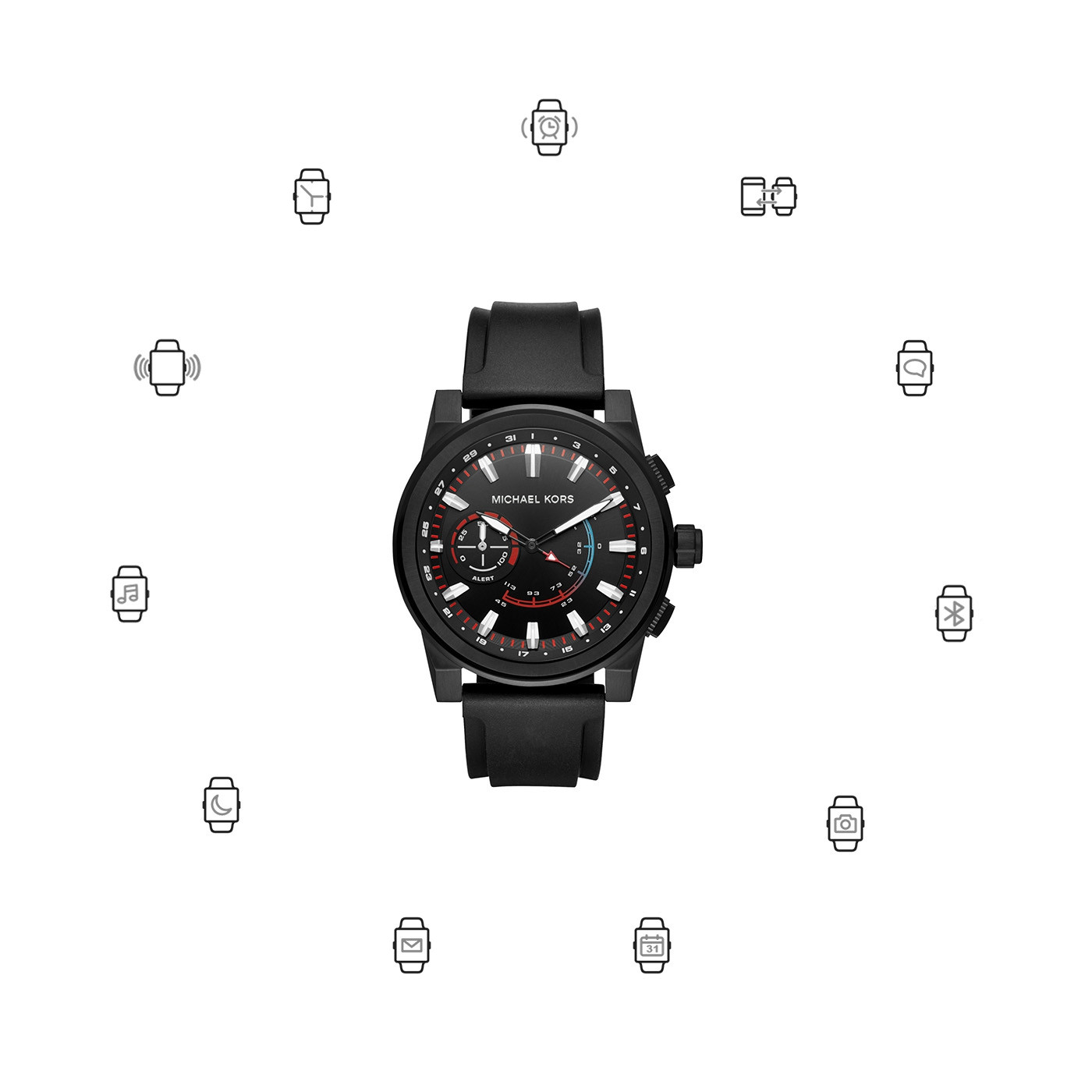 Michael Kors Access Grayson Hybrid Smartwatch MKT4010