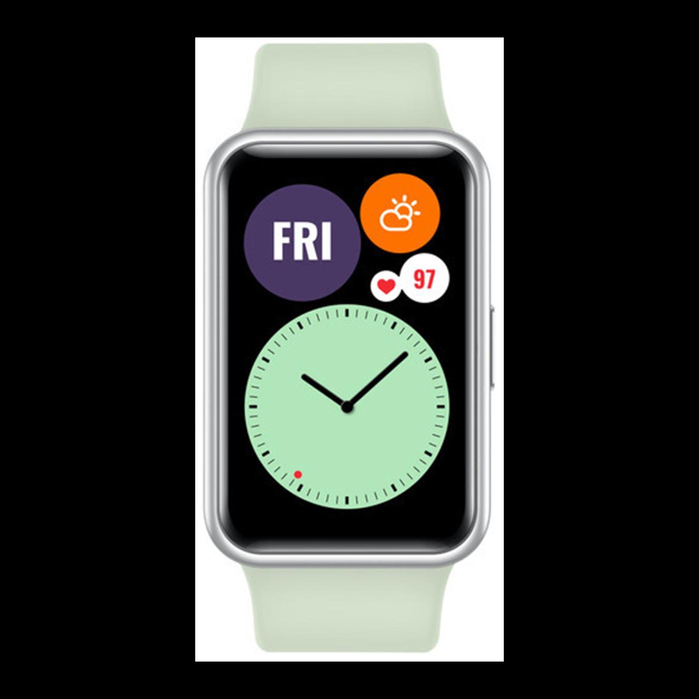 Huawei Watch Fit Display Smartwatch Groen HUNL-FIT-GRN