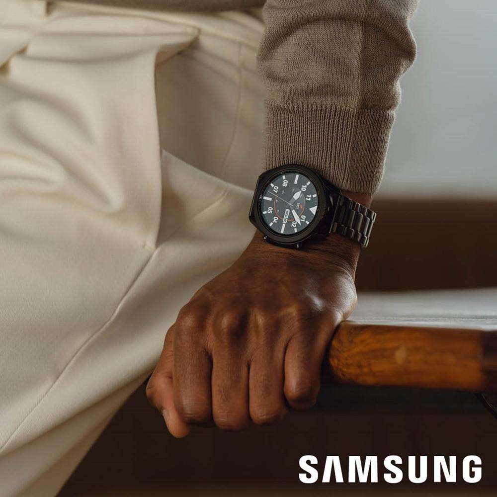 Samsung Special Edition Galaxy 3 Display Smartwatch met 2 Extra Horlogebandjes SA.R840BS