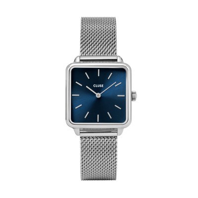 CLUSE La Tétragone Zilverkleurig Horloge CW0101207012