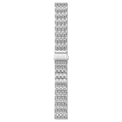 Renard Elite 35.5 Strap 18mm Zilverkleurig R18M1SS1