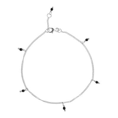ANNA + NINA 925 Sterling Zilveren Essentials Meteorite Armband 18-2M907010S (Lengte: 18.00 cm)