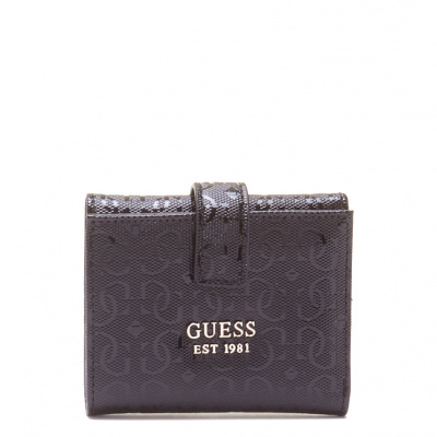 GUESS Druckknopf Brieftasche SWGG81-26380-BLA