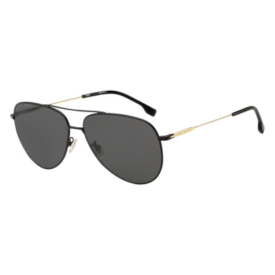 BOSS Matt Black Gold Zonnebril 1219FSK -I46-63-IR