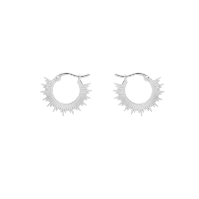 ANNA + NINA 925 Sterling Zilveren Rising Sun Ring Oorbellen 21-1M902021S