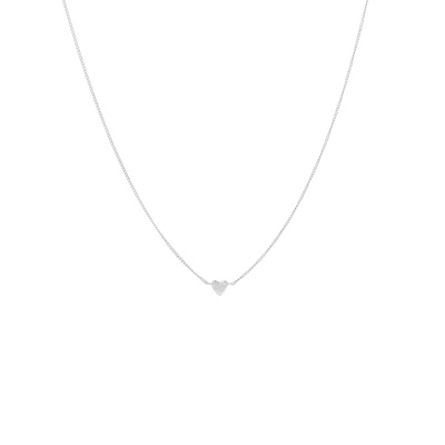ANNA + NINA 925 Sterling Zilveren Te Quiero Ketting 21-1M903001S (Lengte: 43.00 cm)
