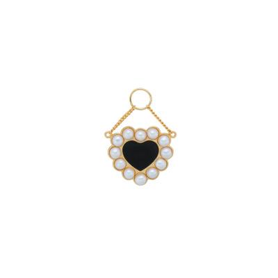 ANNA + NINA 925 Sterling Zilveren Forbidden Love Oorbedel 21-1M904004GP