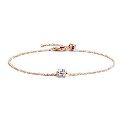 Blush 14 Karaat Gouden Armband 2166RZI (Lengte: 18.00 cm)