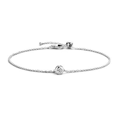 Blush 14 Karaat Witgouden Armband 2167WZI (Lengte: 18.00 cm)