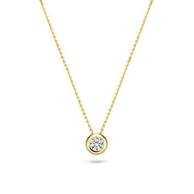 Blush 14 Karaat Gouden Ketting 3052YZI (Lengte: 42.00 cm)