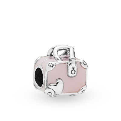 Pandora Moments 925 Sterling Zilveren Suitcase Bedel 798063EN124
