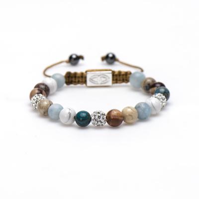 Karma Spiral Beach Belle Armband 85325 (Lengte: 17.50-19.00 cm)