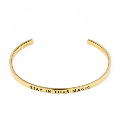May Sparkle The Bangle Collection Magic Goudkleurige Armband MS10012