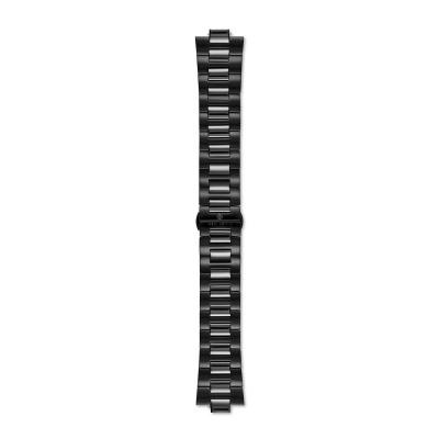 Sem Lewis Aldgate Edelstahl Uhrenarmband 24 mm schwarz SL620005