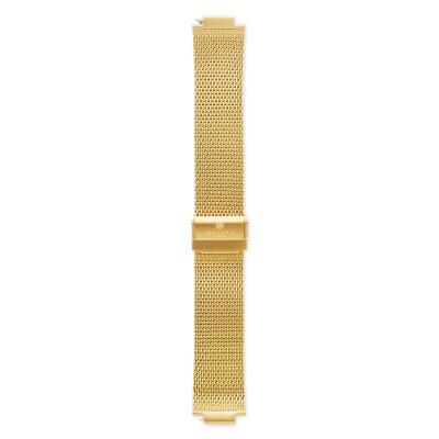 Sem Lewis Moorgate Mesh-Edelstahl Uhrenarmband 24 mm goldfarben SL620006