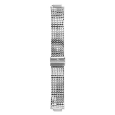 Sem Lewis Moorgate Mesh-Edelstahl Uhrenarmband 24 mm silberfarben SL620008