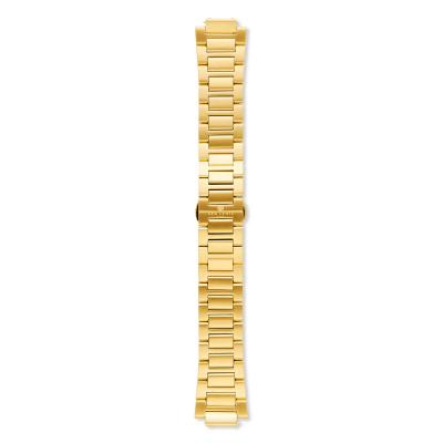 Sem Lewis Moorgate Edelstahl Uhrenarmband 24 mm goldfarben SL620009