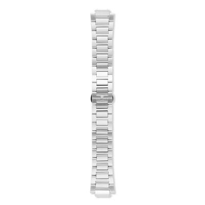 Sem Lewis Moorgate Edelstahl Uhrenarmband 24 mm silberfarben SL620011