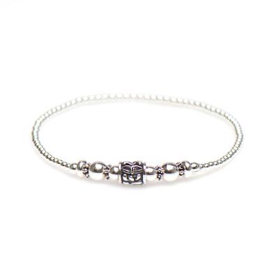 Karma 925 Sterling Silber Balistyle Armband 92326