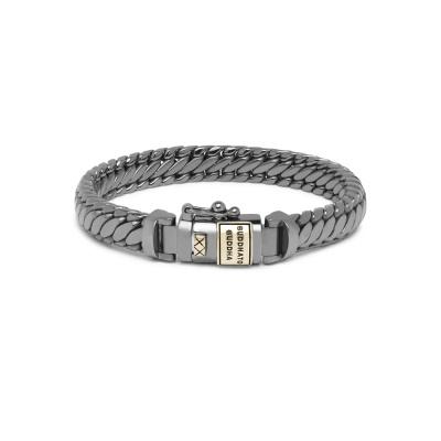 Buddha to Buddha Black Rhodium Heritage Ben XS Armband J070BRSG (Lengte: 17.00-21.00 cm)